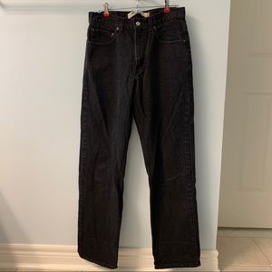 Levi's Black Men's Jeans 550 Relaxed Fit